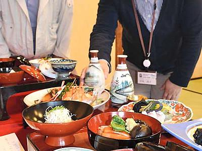 江戸時代の婚礼料理、豪華な12品 安曇野で古文書から再現
