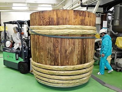 みそ仕込んで百年、伝統の木おけ修理