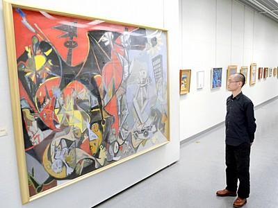画業70年振り返る、故田中隆盛さん回顧展