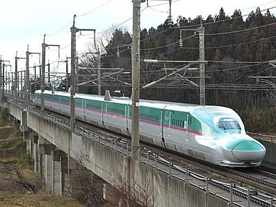 東北新幹線35周年記念 E5系 新潟-八戸間を直通運転