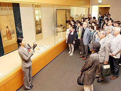 「I LOVE 日本画」が開幕 富山県水墨美術館