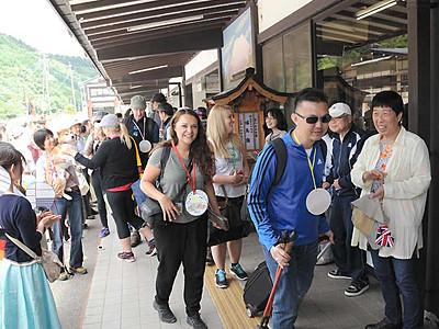 木曽観光推進、DMO始動 商品開発へ欧州の旅行代理店招く