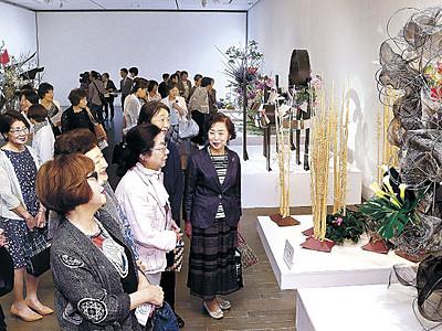 総合花展金沢展が開幕