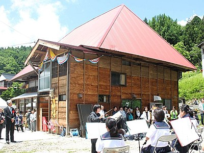 古民家が「たまり場」 小国・交流施設オープン
