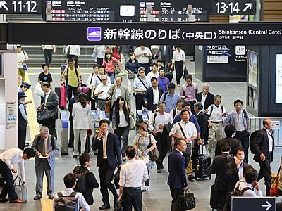 北陸新幹線、富山県内3駅利用高水準