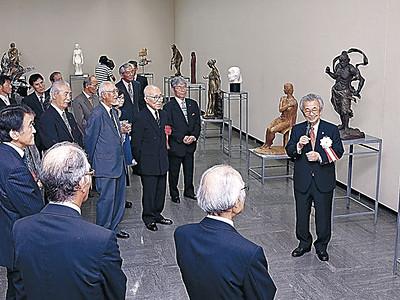 存在感放つ具象の美 日彫北陸展きょう開幕 石川県立美術館