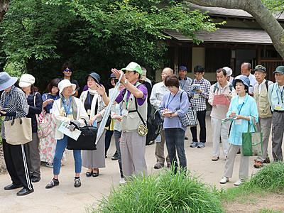 観光ボランティアが高岡の魅力学ぶ 養成講座の現地学習