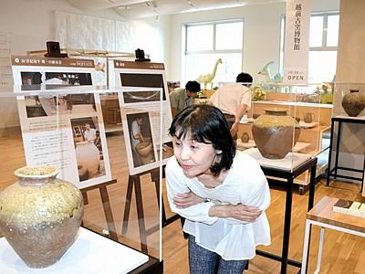 現代に受け継がれる古越前の技 サンドーム福井で特別展