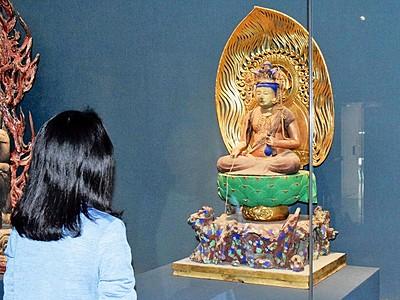秘仏「十一面観音菩薩像」を公開 福井県立若狭歴史博物館