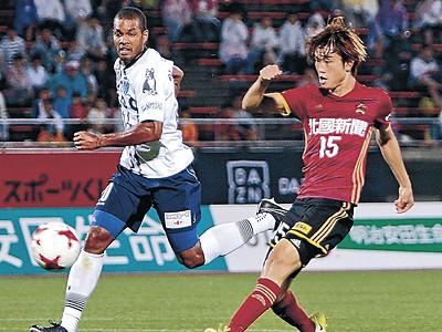 ツエーゲン金沢、今季初3連勝 横浜FCを3―2逆転