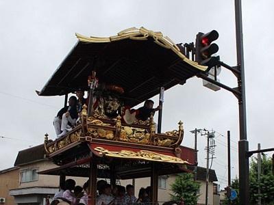 7日「村上大祭」 ネットで生中継配信