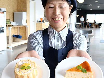 庄川ゆずのケーキいかが 道の駅限定販売
