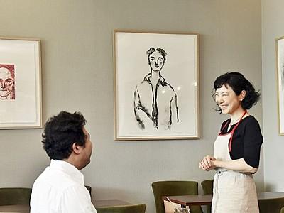 カフェで現代アート満喫して 福井県立美術館