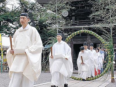 「天神講」五穀豊穣祈る 加賀・菅生石部神社