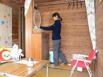 白馬岳登山、女性がより快適に 頂上宿舎に専用部屋