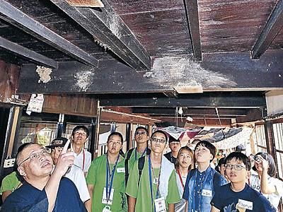 ツバメ観察で国際交流 日韓台児童、能登町でキャンプ開始