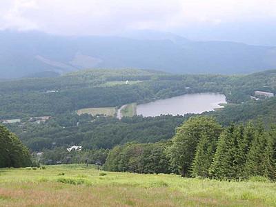 女神湖の花火、山から見下ろす 立科町がゴンドラ夜間運行へ