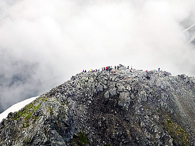 絶景 夏の剱岳