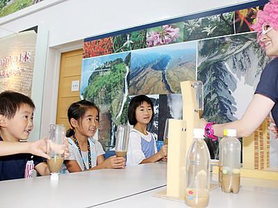 立山カルデラ砂防博物館でサイエンスショー