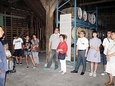ウイスキー魅力体感 砺波の若鶴酒造「三郎丸蒸留所」
