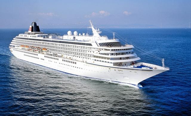9月23日に敦賀港に寄港する国内最大のクルーズ客船「飛鳥2」(郵船クルーズ提供)