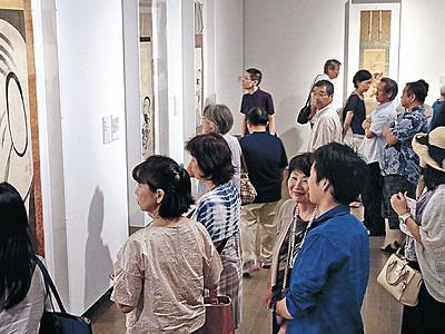江戸絵画の真髄展、2万人を突破 21世紀美術館、会期あと1週間