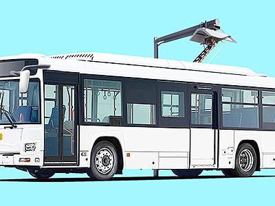 立山のトロリーバスが電気バスへ 関電
