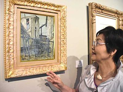 藤田嗣治作品、新たに公開 下諏訪のハーモ美術館購入