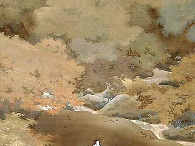 菱田春草の作品、常設展示へ 飯田市美術博物館