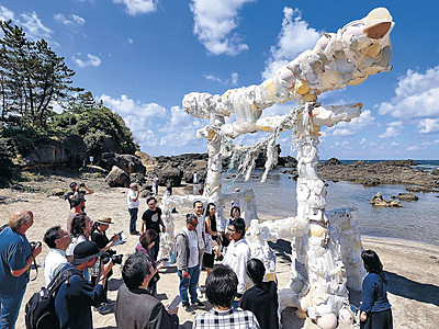 珠洲をアートで彩る 奥能登国際芸術祭、きょう開幕