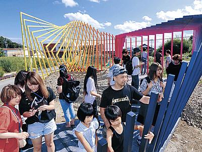 アートで最果ての物語 珠洲で奥能登国際芸術祭始まる
