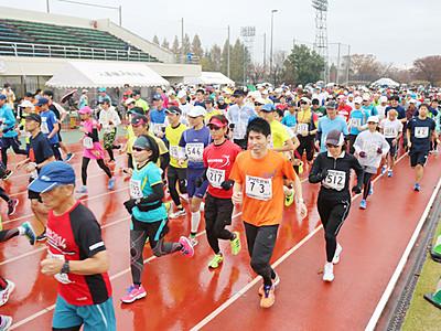 11月19日扇状地マラソン 入善 参加者募集 ゲストに福島さん
