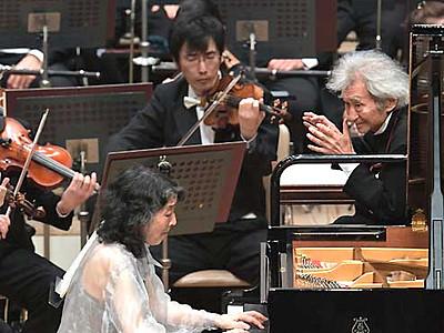 小澤征爾さん・内田光子さん協演 OMF、鳴りやまぬ拍手