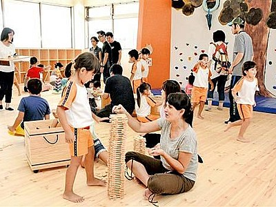 屋内遊び場、飲食満喫を 武生中央公園に複合施設