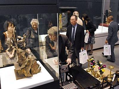 歴史刻む美が魅了 興福寺寺宝展で開場式 9日開幕 新潟