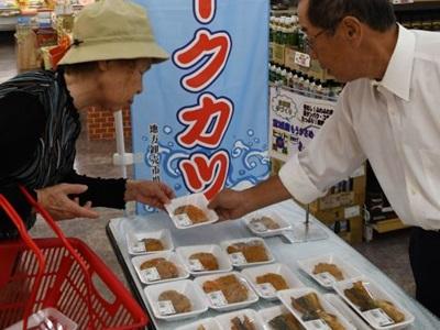 サメのカツ販売に本腰 上越のスーパーなど
