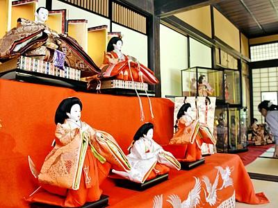 江戸時代の文化再現「重陽の節句展」 福井県大野市