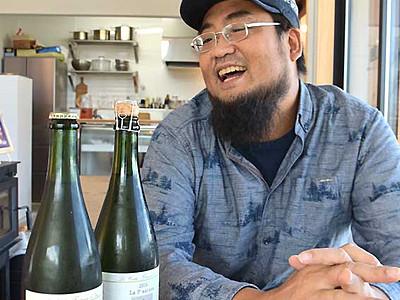 伊那のリンゴで高評価 参入1年「カモシカシードル醸造所」