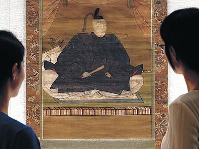 利家掛け軸、53年ぶり里帰り 県立歴史博物館で16日公開