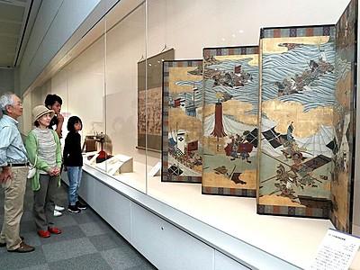 川中島の戦い展開幕 戦国の両雄実像に迫る 長岡・歴博