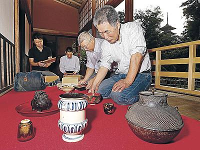 妙成寺できょう梅鉢茶会