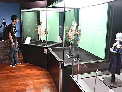 「ひょうたん島」など懐かしの5作 飯田でテレビ人形展