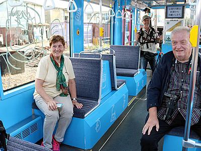 ドイツの鉄道愛好家が3路線視察 路面電車「きれい」
