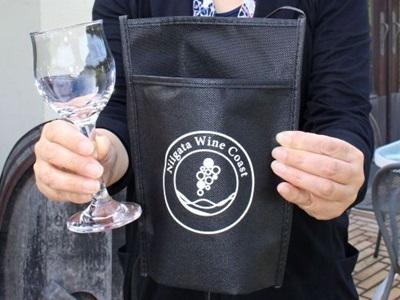 1日西蒲区・ワインフェスタ 試飲ラリー初開催