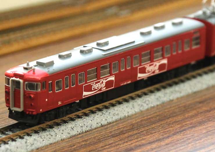 「コカ・コーラレッド」の車両(模型)