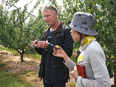 軽井沢で佐久地方の農産物を ホテルなど対象にツアー