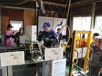 「燕三条工場の祭典」開幕 匠の技現場で体感 県央地域