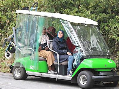 障害者も楽しめる観光学ぶ 富士見で中東・アフリカ関係者