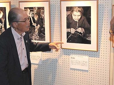 昭和の木曽路、写真で回顧 ブームの担い手撮影の作品展