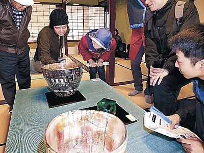 町家彩る「工芸回廊」 金沢・東山、主計町で開幕